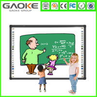 Factory Multi touch OEM ODM SKD 69 to 120 inch size smart interactive whiteboard educational equipment for schools