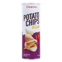 Sweet potato chips halal canned snack food