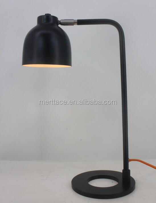 metal tabel lygte black modern table lamp