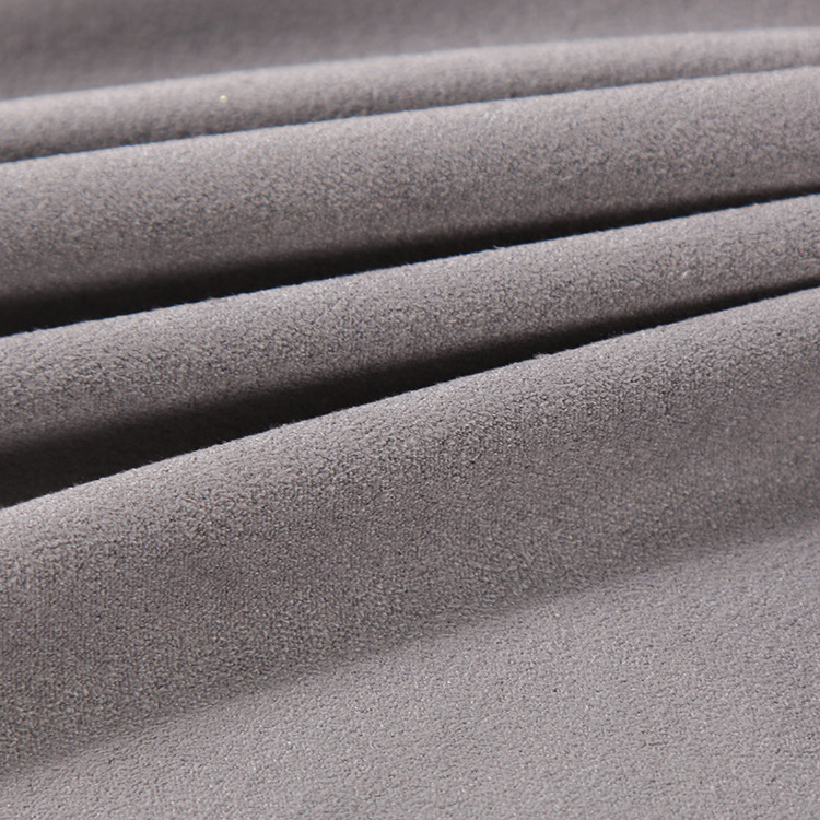 OKTEX China zhejiang home 100% polyester sofa upholstery faux suede fabric,wholesale fabric