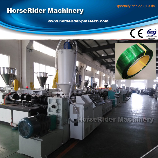 2014 New High output PP PET Strap Production Line PET strap making machine