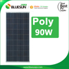 Small solar panel 90w polycrystalline silicon solar cell price lowest for sale