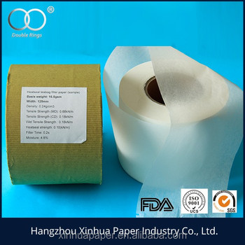 Abaca pulp, wooden pulp high quality coffee filter paper roll