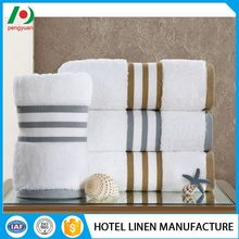 Cost-effective anti bacteria color striped cheap face towel