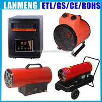 ELT/CE/GS/ROHS approvaled Portable heater infrared cabinent heater