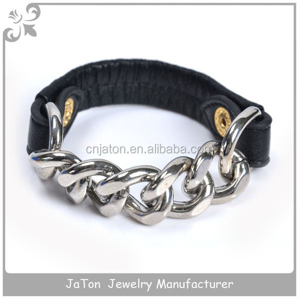 Stainless Steel Motorcycle Chain Bracelet Link