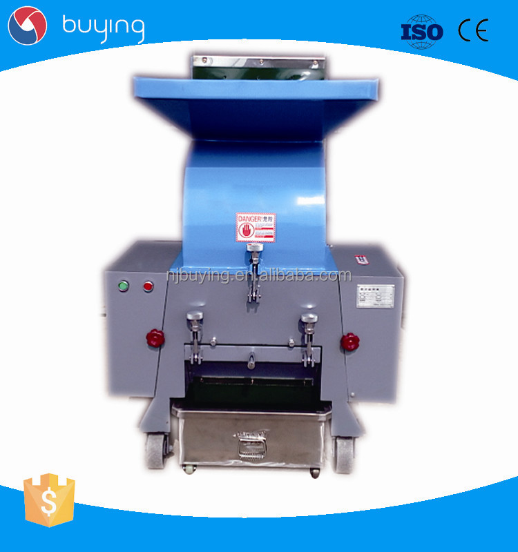 Plastic Crusher For Plastic Scraps Recycling Machine