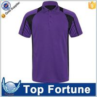 Provide OEM service unisex 100% polyester dry fit polo sport shirt