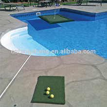 wholesale carpet factory golf driving range practice swing mat second hand rubber matting