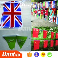 Factory directly supply custom festival fair string flags
