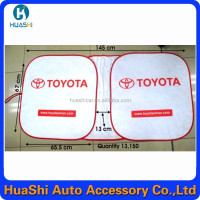 bus curtain car sunshade curtain auto logos in