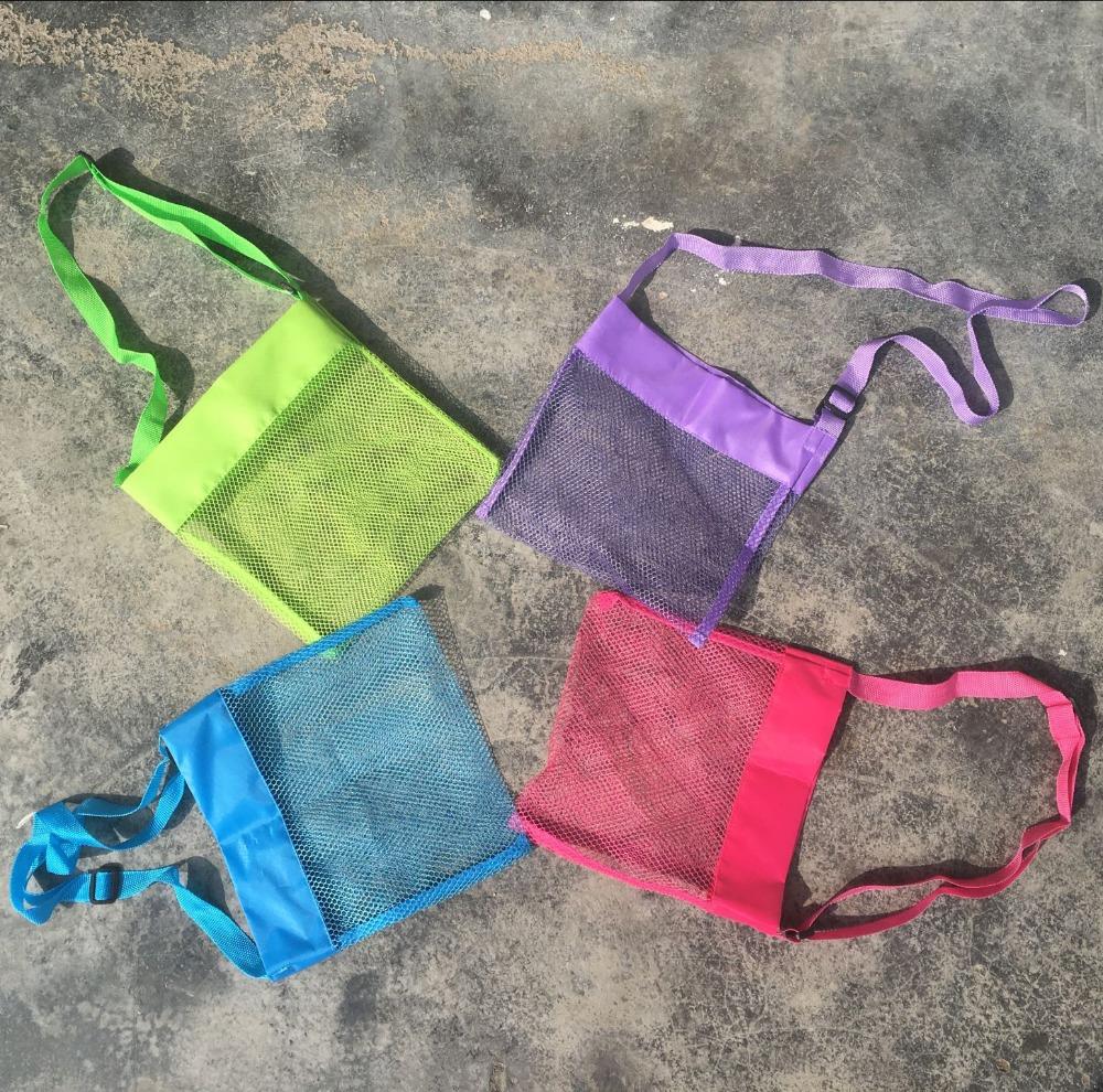 Strandtassen Groothandel : Groothandel kids mesh shell tassen strandtassen handtassen