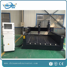 1325-2 black stone cnc router granite marble stone engraving carving cnc machine with two spindle 2016 hot product