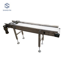 Portable Food Grade Grain Flat Belt Conveyor