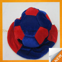 GBIY-247 High quality low price purple bowler hat funny football hats folding fan hats