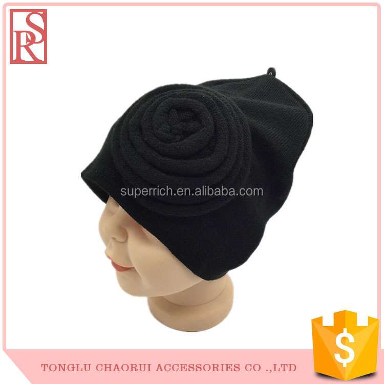 Headwear Hats & Caps High Quality flower ear Baby Winter Hat