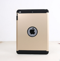 Hard Hybrid Shockproof Dust Proof Case Cover For ipad 2 2 in 1 pc case