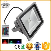 50w high power slim color changing outdoor led flood lights fixtures
