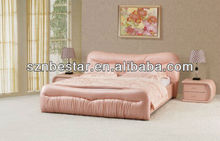 2013 king size romantic leather soft bed