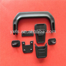 2015 popular combination plastic handle with plastic insert lock buckle for case, bags