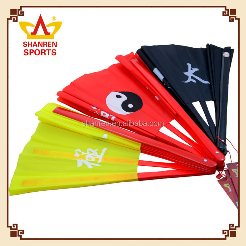 2016 Promotion wedding favor manual taffeta hand fan