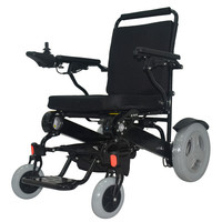 Folding Electric Power Wheelchair With 2 Pcs Specifical Lithium Batteries With CE ISO Approoval