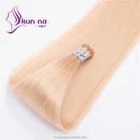 Brazil human hair extension 2017 New arrival #613 Blonde color hair extension I tip hair