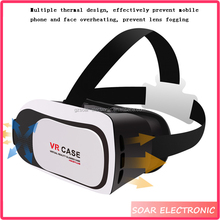 2016 Trending Products Universal 3D Glasses VR Box 2.0 Virtual Reality Case For Mobile Phone 3.0-6.0 Inch