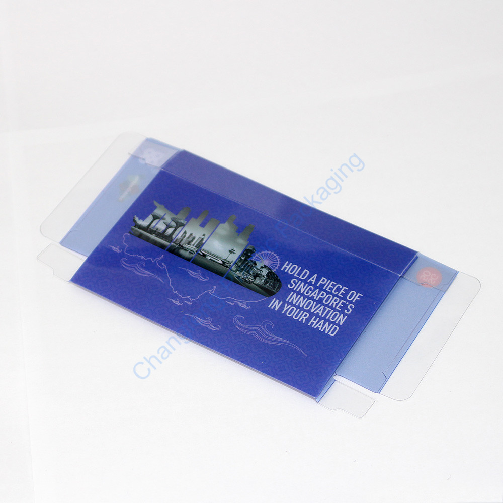 Manufacturer PVC Plastic Box for Electronic USB