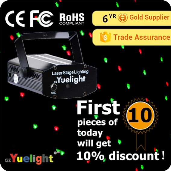 Yuelight big dipper mini firefly semiconductor lowes laser lights stage