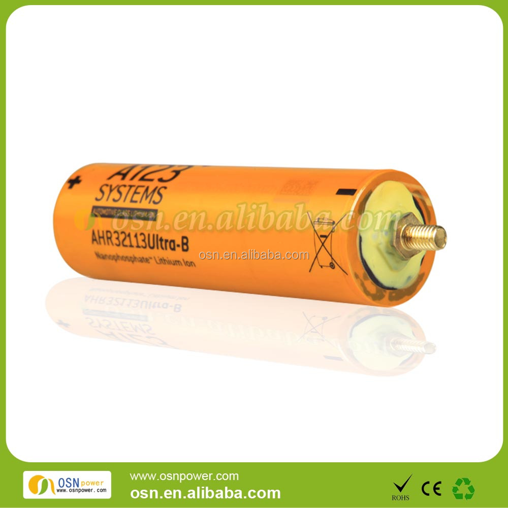 High Power Cells 3.3V 4Ah A123 32113 Lifepo4 Cylindrical Rechargeable Cells E-bike battery