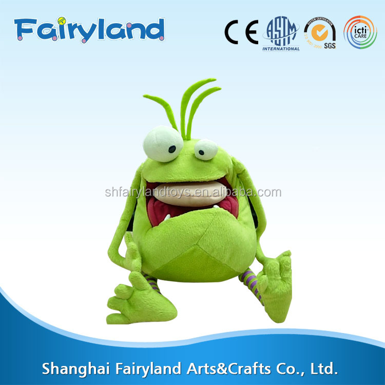 china manufacturers supply custom Plush toys monster backpack for kids