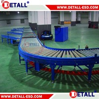 Working table assemble line Conveyor System Structure LED lights assembly line