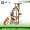 Aimigou qq New Beige Cat Tree Condo Furniture Scratch Post Pet House