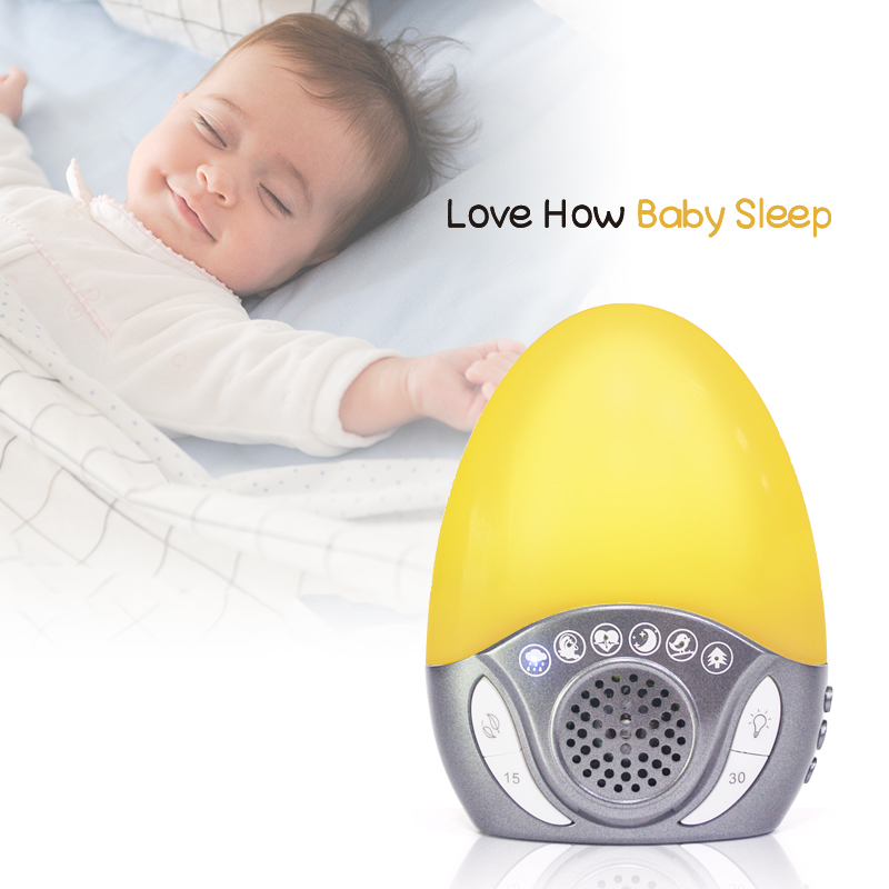 Hot Seller in UK! Natural Sound Machine with Night Light