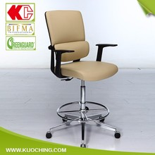 Modern Style Leather Swivel Ergonomic Desk Chairs For Back Pain