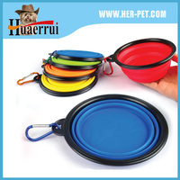 2016 Hot Sell High Quality Travel Dog Bowl Collapsible