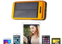 Large capacity solar battery charger for mobile phone