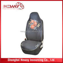 china 100% polyester car seat cover
