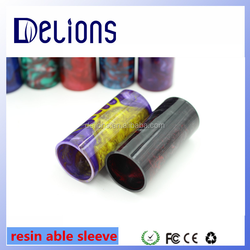 2016 New Able Mod Sleeves material epoxy av able mod clone sleeves resin sleeves for avid lyfe able v2 mech mods limitless