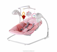electric baby swing cribs with music and speed control