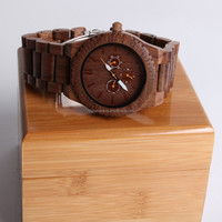 Fashion lovely square shape jelly eco-friendly vintage quartz wood watch