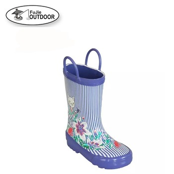 Cheap Kids Cute Rain Boots