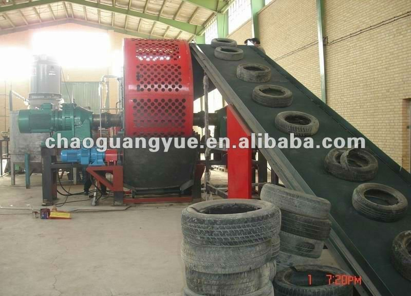 used tyre cracker machine