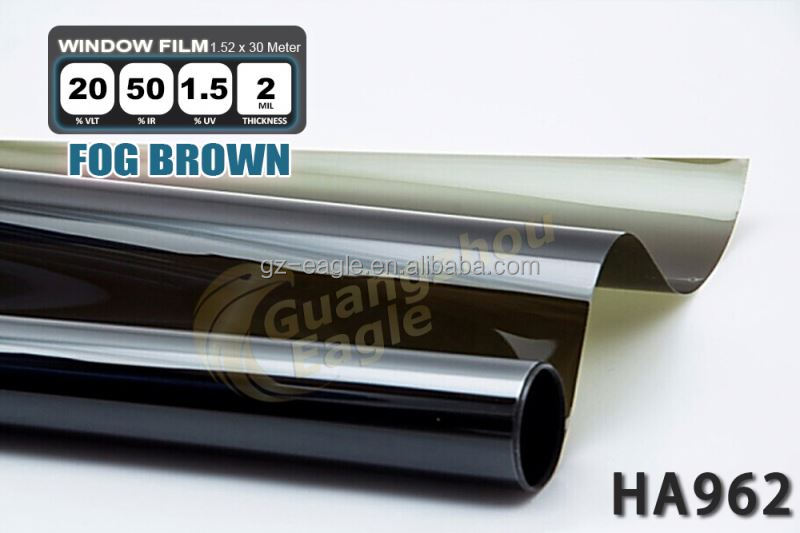 "Security Uv Film 85% 2 Mil Clear Shatter Resistant Window Film 30""X10Ft"