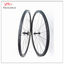 wholesale full carbon fiber bicycle wheels roues en carbone farsports 30 23, 20 24H UD matte, with Sapim cx-ray spokes
