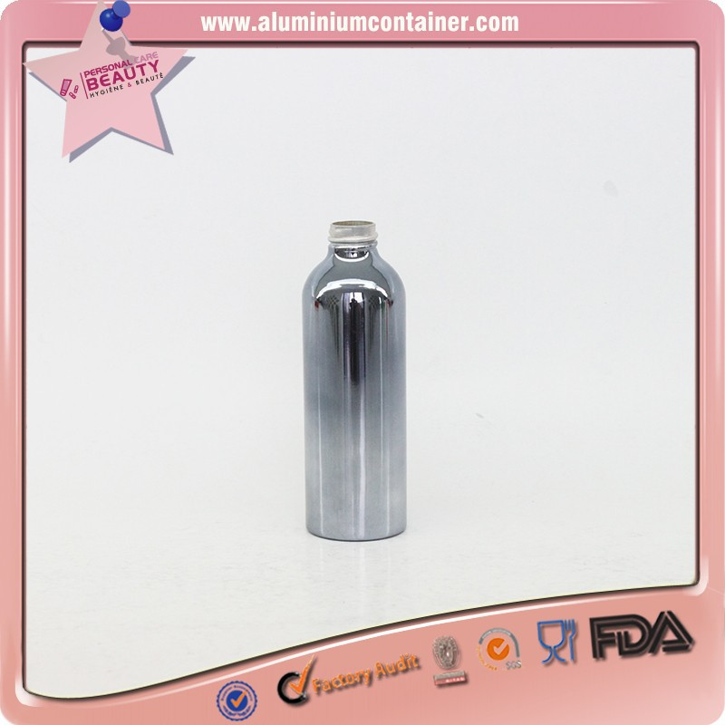 aluminum aluminum nail polish bottle for acetone 100,120,150,180ml