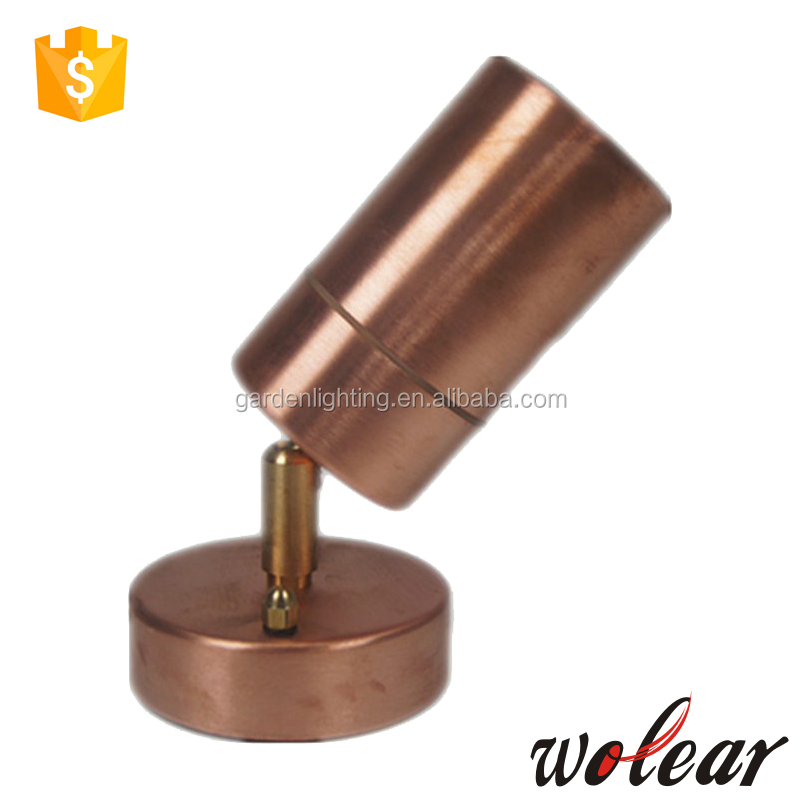 Copper outdoor landscape lamps wall light