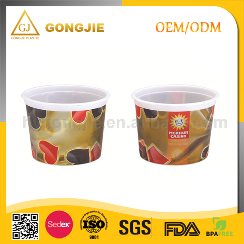 Hot Sell, PP Wholesale, Popular Mug, Injection Molding, Ice Cream Plastic Cup