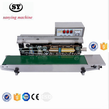 FRM-980A automatic ink roll sealing machine,Continuous band sealing machine, plastic film sealing machine